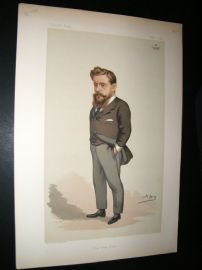 Vanity Fair Print 1881 Duke of Norfolk, Spy Cartoon